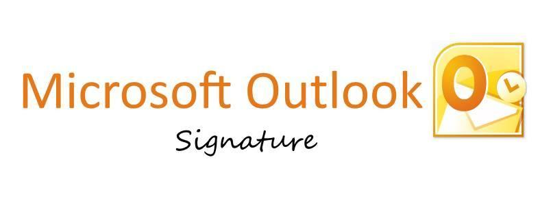 how to add signature to micosoft mail