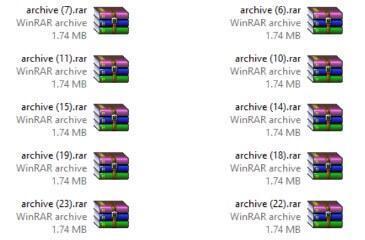 חילוץ קבצים אונליין באמצעות Archive Extractor