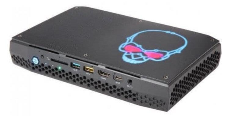 מחשב מיני Intel NUC Core i7 8809G 4.2GHz NUC9